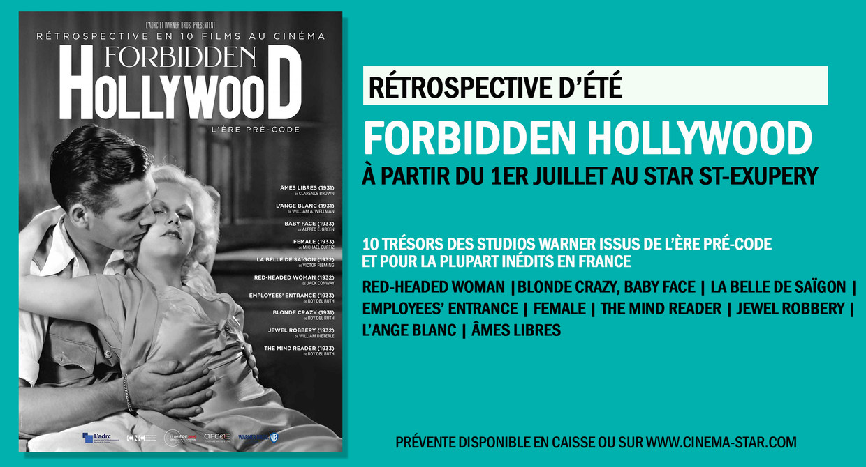 Rétrospective Forbidden Hollywood