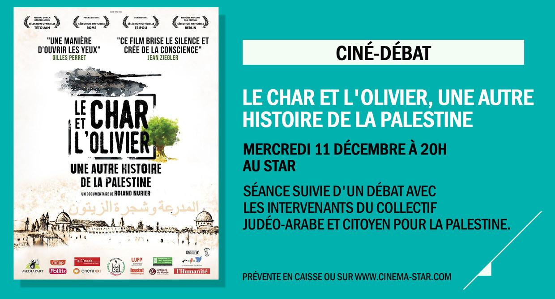 Photo du film Le Char et l'olivier, une autre histoire de la Palestine