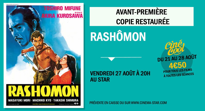Avant-première - copie restaurée : RASHOMON