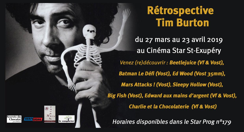 Rétrospective Tim Burton