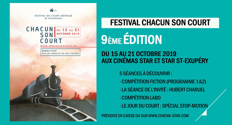 Festival Chacun son Court : 9ème édition