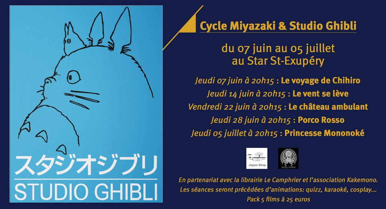 Cycle Miyazaki & Studio Ghibli
