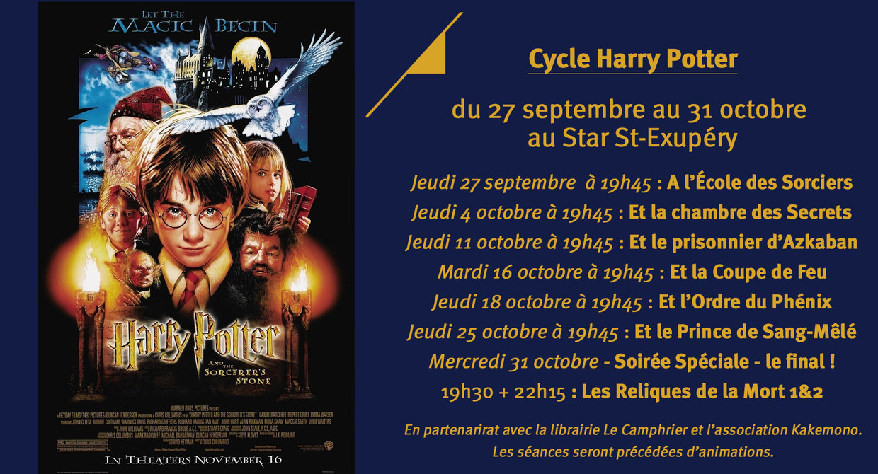 Cycle Harry Potter