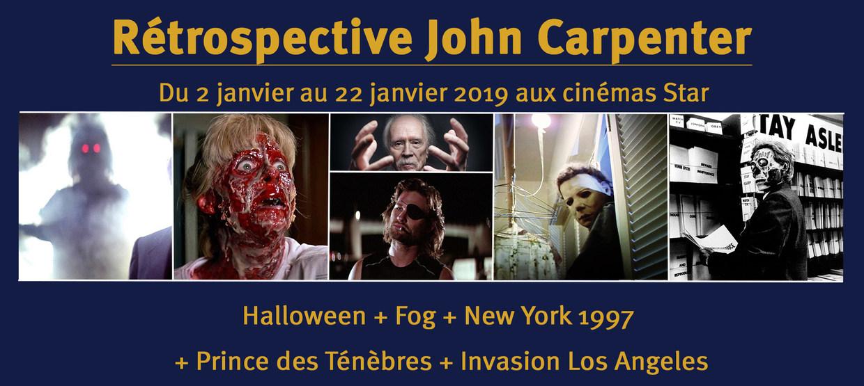 Rétrospective John Carpenter